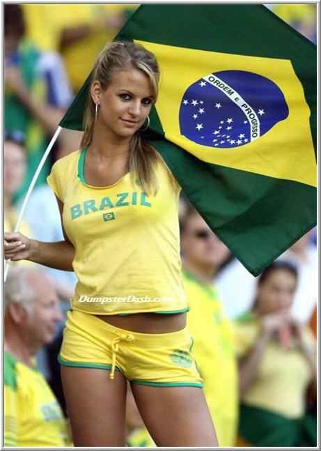 Hot World Cup fans that will make you cheer - Slapped Ham