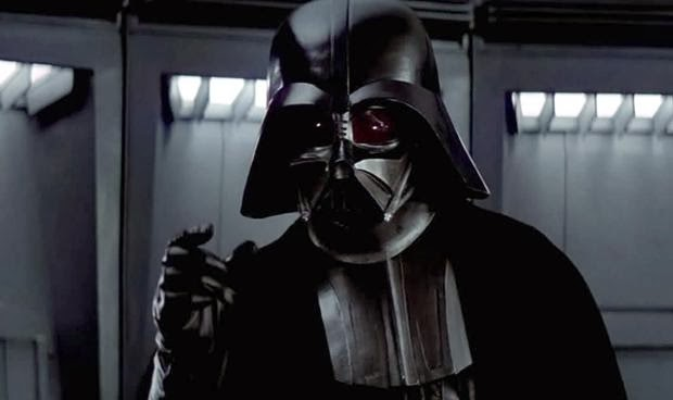 Darth Vader choking someone. Darth Vader is one of the iconic movie villains that scared you silly.