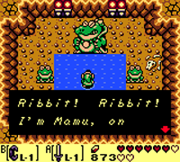mamu is an example of Weird Zelda Mario Crossovers