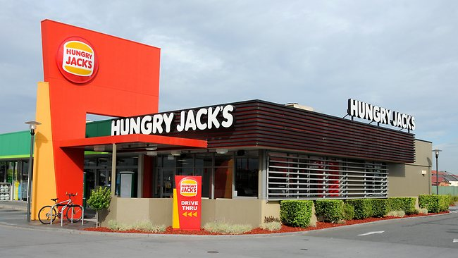 Hungry Jacks is part of the strange facts about Burger King