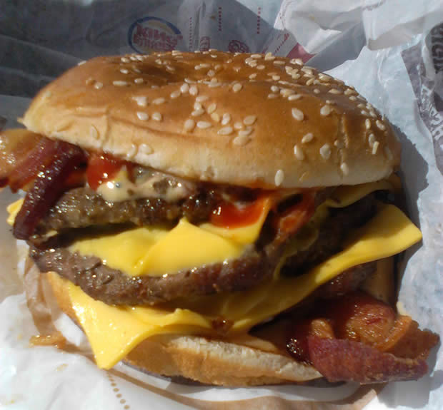 The suicide burger is part of the strange facts about Burger King