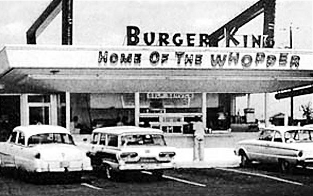 An example of strange facts about Burger King