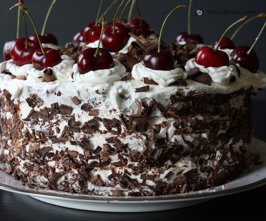 Black Forest Gateau Recipe   Dishmaps