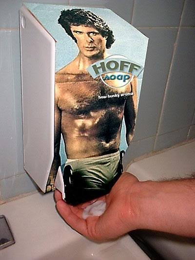 A fun example of a bizarre bathroom accessories