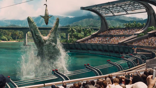 The best part of Jurassic World.