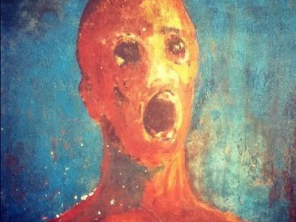 The Anguished Man painting is a cursed object.