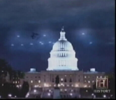 UFOs Over The White House - 8 Most Convincing UFO Sightings Of All Time