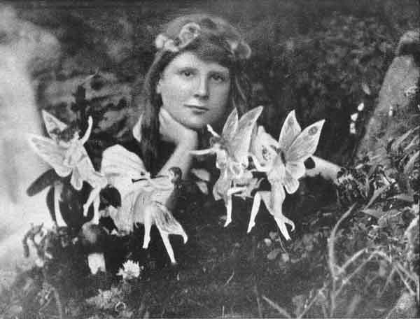 One of five photos of the Cottingley Fairies - 8 Greatest Hoaxes Of All Time