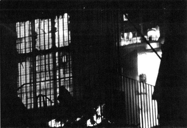 Ghost In The Burning Building - 10 Ghostly Photos You Have Never Seen