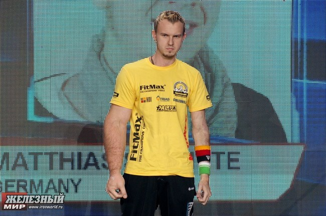 Matthias Schlitte German arm-wrestling champion - 10 real people you have to see to believe.