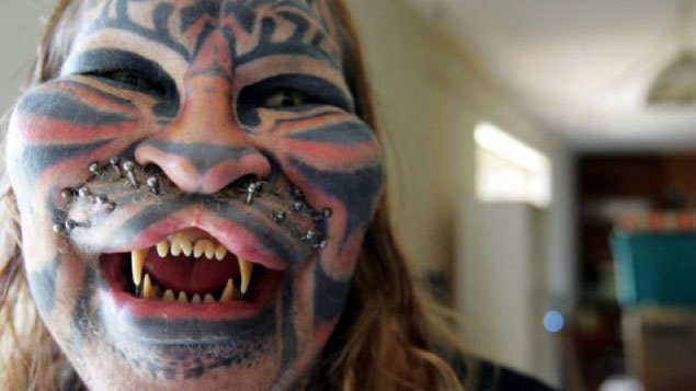 Stalking Cat Dennis Avner - 10 Most Insane Body Modifications You Just Have To See