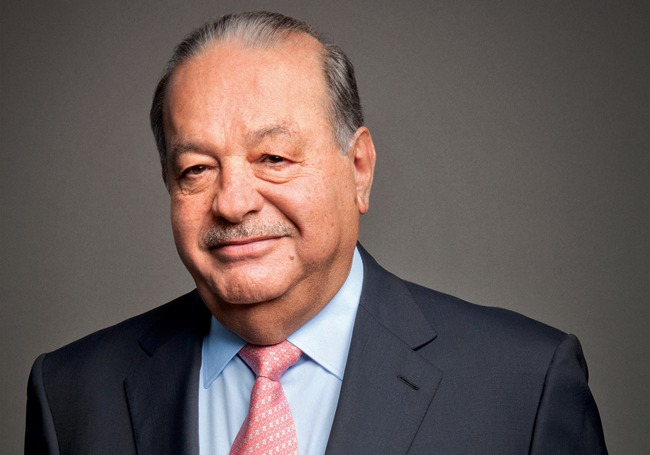 Carlos Slim is one of the most rich people in the planet
