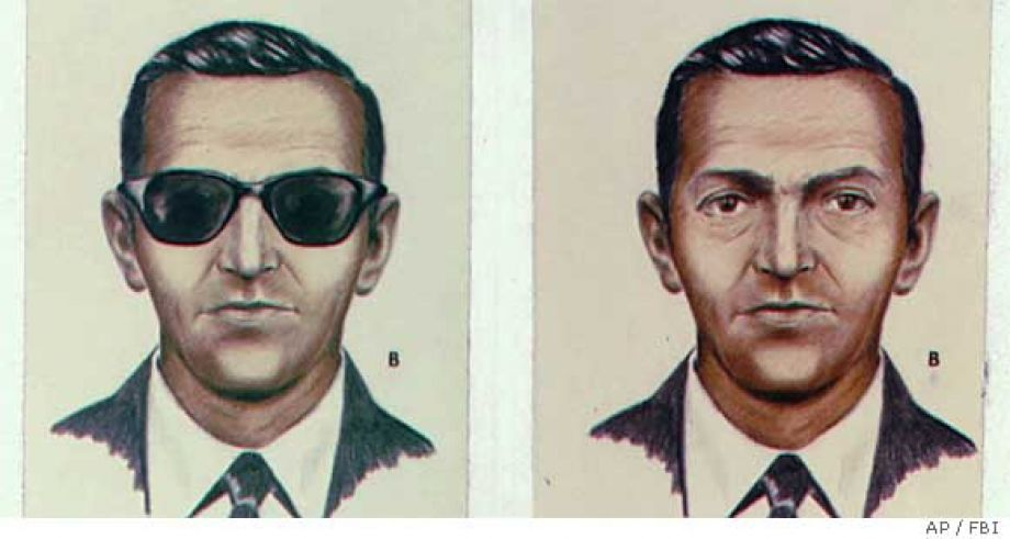 D.B. Cooper - 10 Famous People That Mysteriously Vanished