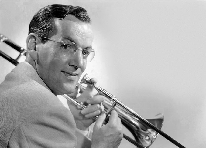 Legendary big band leader Glenn Miller - 10 Famous People That Mysteriously Vanished