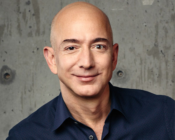Bezos is one of the richest people in the world.