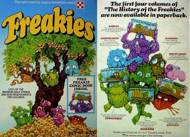 These are the strange breakfast cereals ever made