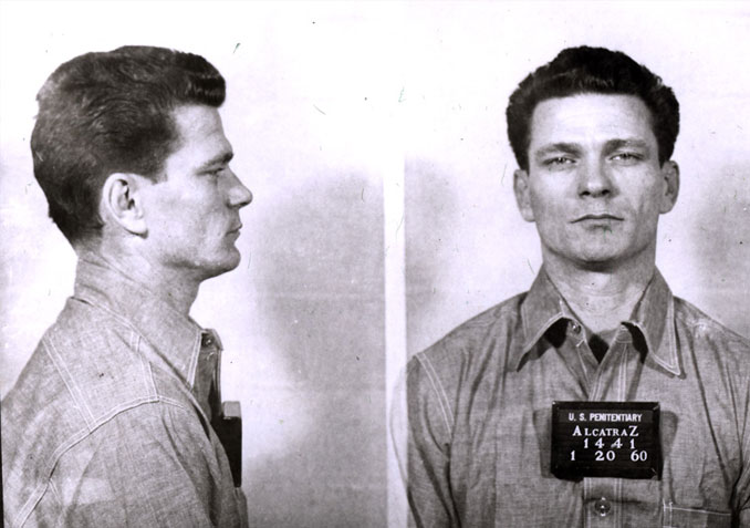 Frank Morris escaped from Alcatraz - 10 Famous People That Mysteriously Vanished