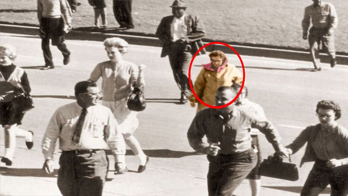 The Babushka Lady - 10 Famous People That Mysteriously Vanished