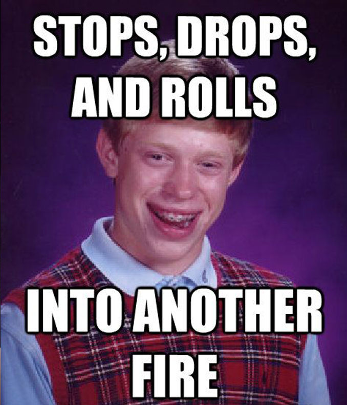 Bad Luck Brian meme - 10 REAL People Behind Popular Internet Memes