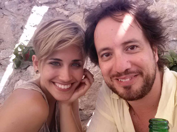 Giorgio A. Tsoukalos and his wife - 10 REAL People Behind Popular Internet Memes