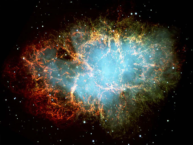 The Crab nebula - 10 Mysterious Photos Taken In Space