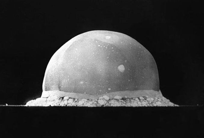 The Trinity nuclear test - 10 Science Experiments That Could Have Ended The World