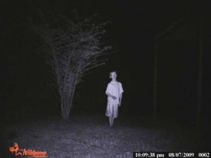 Creepy trail cam pictures