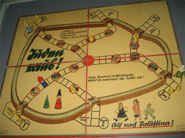 This offensive board game called Jews Out was released pre-world war 2