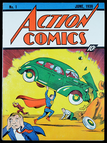 The Action Comics No.1 is one of the most expensive eBay listings of all time.