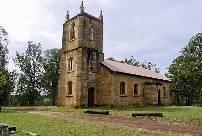 Anglican Parish of Mulgoa - 10 MOST Haunted Places in Australia