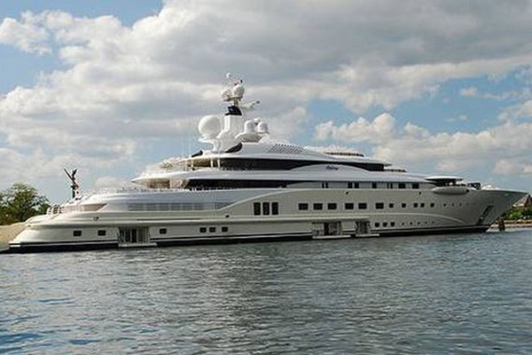 This Gigayacht is one of the most expensive eBay listings