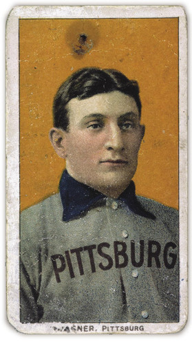 Honus Wagner Baseball card is one of ebay's most expensive listings