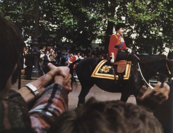 Marcus Simon Sarjeant shooting blanks at Queen Elizabeth II - 10 REAL Photos That Are Hiding A Dark Secret