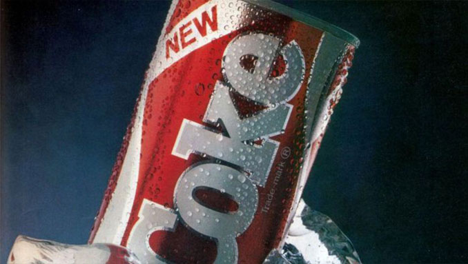 New Coke - 10 Worst Business Decisions Ever Made