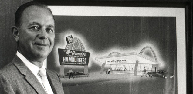 This fact about Ray Croc the founder of McDonald's is a strange McDonald's fact