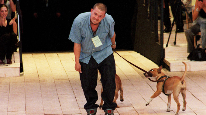 Alexander McQueen left thousands of dollars to his pet dogs after he died.