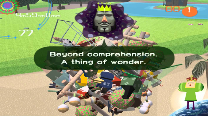 Katamari Damacy is one of the weirdest video games ever