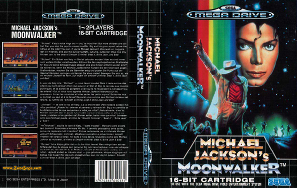 Michael Jackson's Moonwalker was a really strange video game.