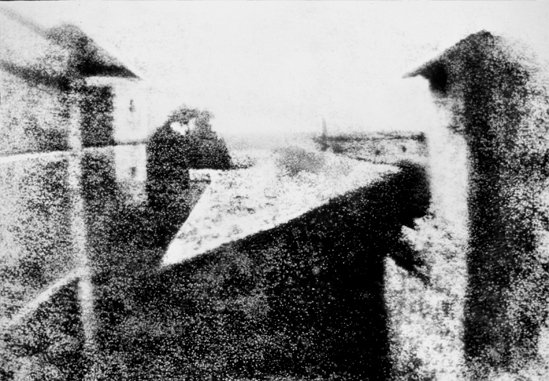 This is the world's first photograph.