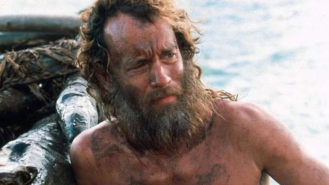 Tom Hanks was nearly killed on the set of a film.
