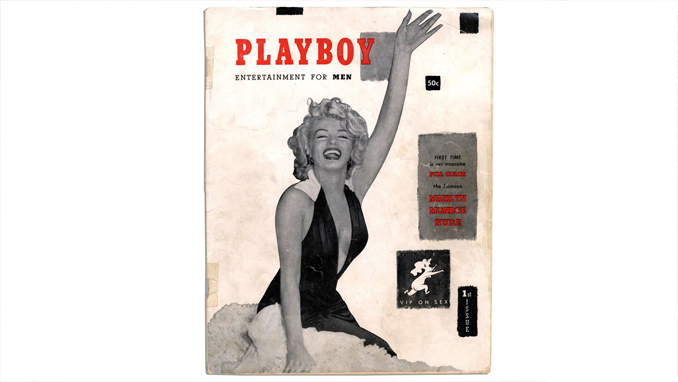 First issue of Playboy Magazine.