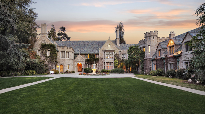 The Playboy Mansion in L.A.