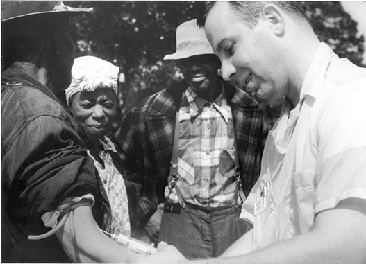 The Tuskegee syphilis experience is a conspiracy theory that turned out to be real.