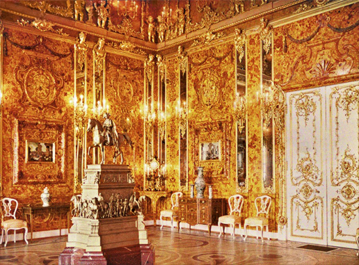 The Amber Room is a lost treasure that could still be found today!