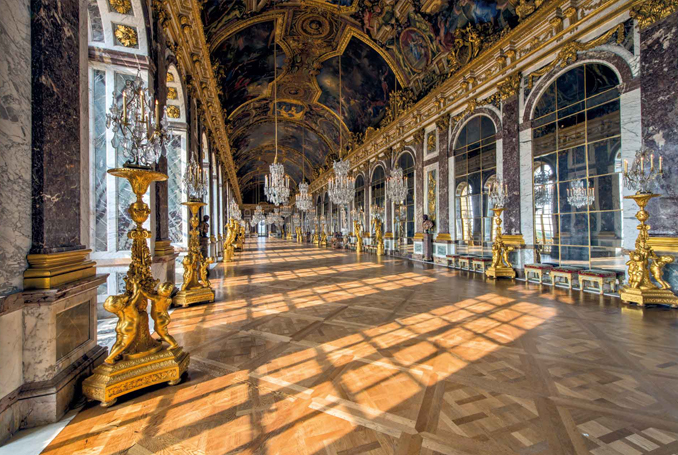 Professors Anne Moberly and Eleanor Jourdain see Mary Antoinette at The Palace of Versailles in 1901 - 10 REAL Cases Of Time Travel That Cannot Be Explained