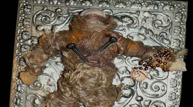 Voodoo doll purchased on eBay - 10 Cursed Dolls With Very Creepy Backstories