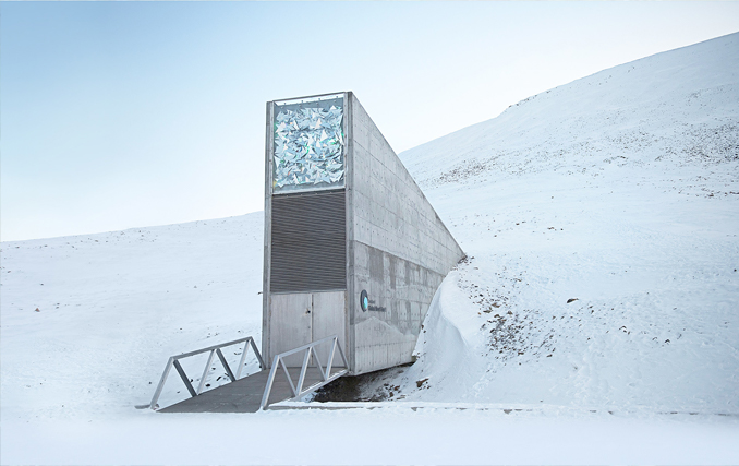 The Svalbard Seed Vault is one of the most forbidden places on Earth