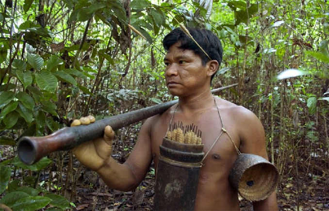 The remote Fleicheros tribe is one of the Most Isolated and Dangerous Tribes in the World