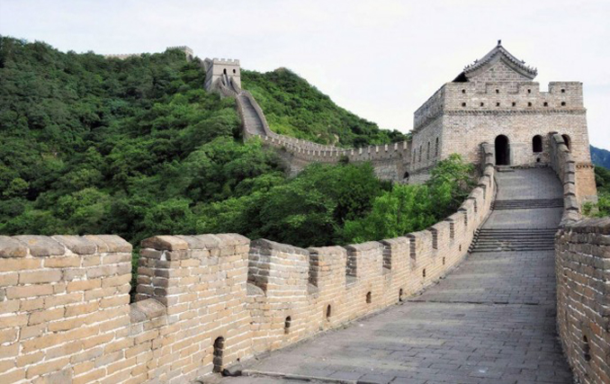 The Great Wall of China has many ghost sightings and is most haunted places in China