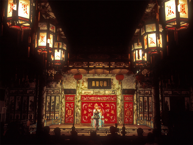 Huguang Huiguang Opera House is most haunted places in China